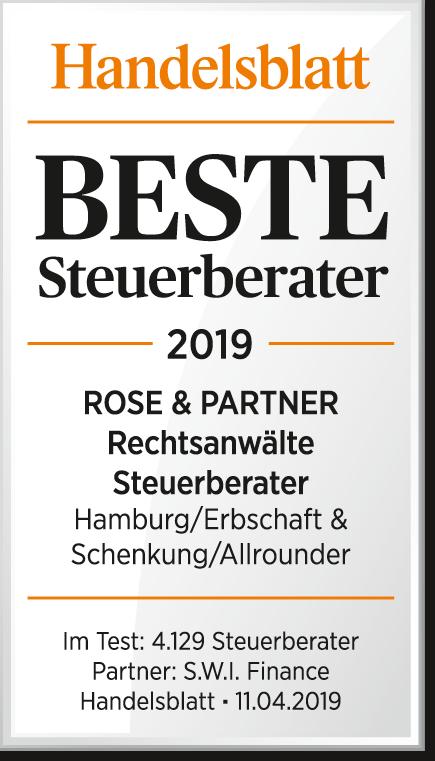 Beste Steuerberater Deutschlands – wir sind dabei